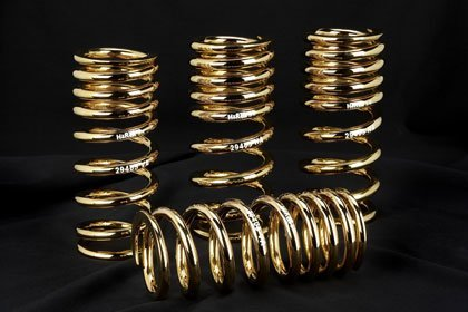 Muelles de oro de 24k de H&R