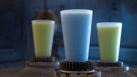 Leche Azul