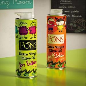 """""""Pons for babies"""": un aceite de oliva gourmet para bebés y niños"""