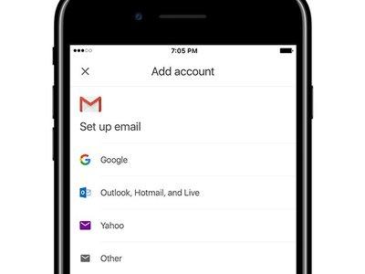 Gmail para iOS podrá utilizar cuentas de correo de otros proveedores próximamente