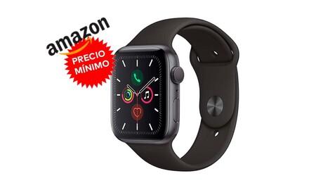 Precio mínimo en Amazon para el Apple Watch Series 5 GPS+Cellular: lo tienes por 130 euros menos, a unos ajustados 449 euros