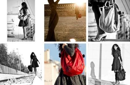 Velas de parapentes recicladas en mochilas, bolsos, carteras...