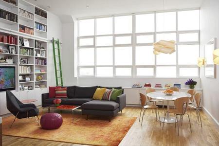 Un loft en Brooklyn...minimalismo cálido