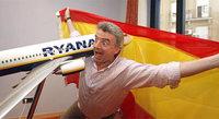 Bufonesca rueda de prensa del presidente de Ryanair