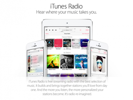 iTunes Radio, la propuesta de Apple