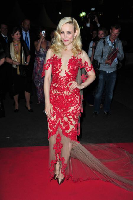 Rachel McAdams mejor vestidas Festival Cannes