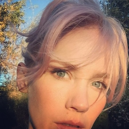 January Jones Pink Hair2