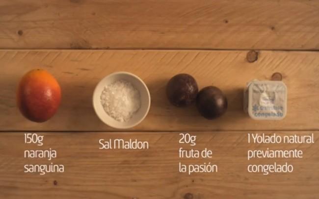 ingredientes canelon naranja sanguina