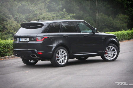 Range Rover Sport PHEV lateral trasero