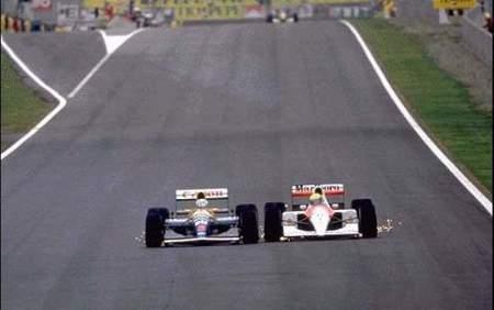 Senna vs Mansell