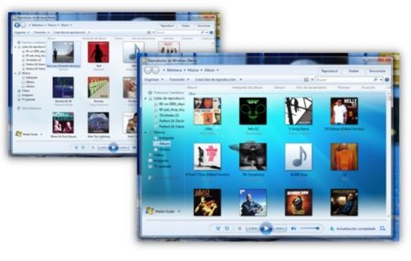 Cambia la imagen de fondo de Windows Media Player con WMP12 Background Changer