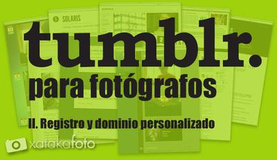 Tumblr para fotógrafos (II)
