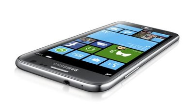 Samsung Ativ S, el primer móvil con Windows Phone 8