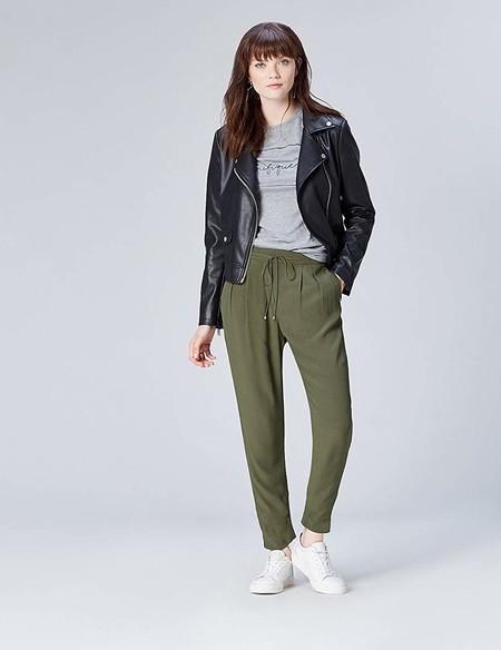Pantalones Joggers Kaki