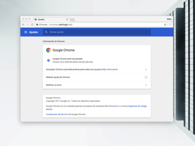 Ya está disponible Google Chrome 63 para Windows, Linux, Mac y Android: seguridad, seguridad, seguridad