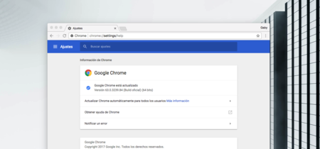 Ya está disponible Google Chrome 63 para Windows, Linux, Mac y Android: seguridad, seguridad, seguridad