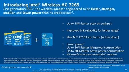 Intel Broadwell U Wirelessac 7265