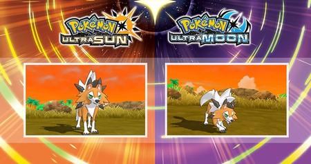 Pokémon Ultrasol y Pokémon Ultraluna presentan la forma crepuscular de Lycanroc