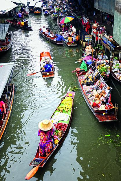 Ratchaburi Damnoen Saduak Floating Market 4