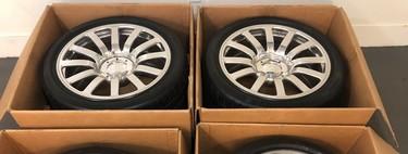Este juego de llantas usadas de un Bugatti Veyron cuesta más que un BMW M4 nuevo