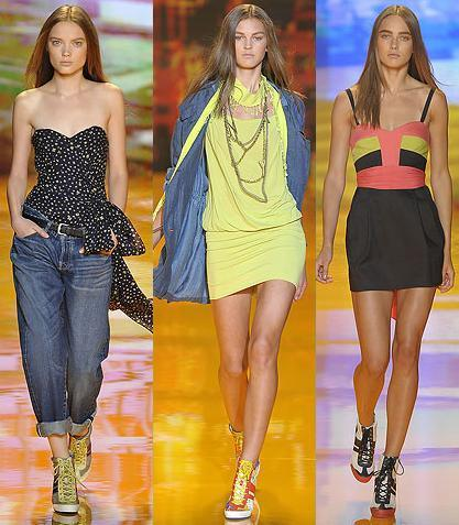 DKNY en la Semana de la Moda de Nueva York primavera-verano 2009