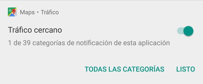 Notificaciones Oreo