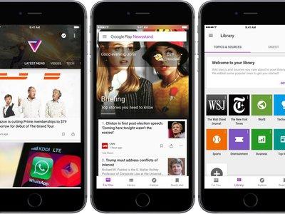 Google Play Newsstand para iOS se rediseña: aprende mediante inteligencia artificial para mostrarte contenido que te interesa