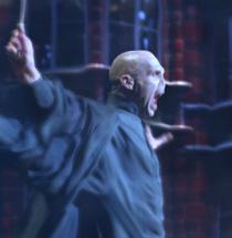Fiennes como Voldemort
