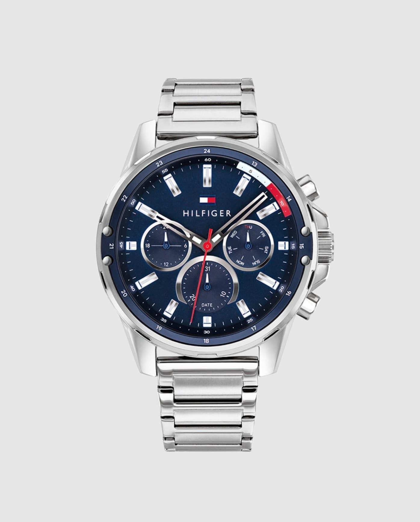 Reloj de hombre Tommy Hilfiger 1791788 multifunción de acero