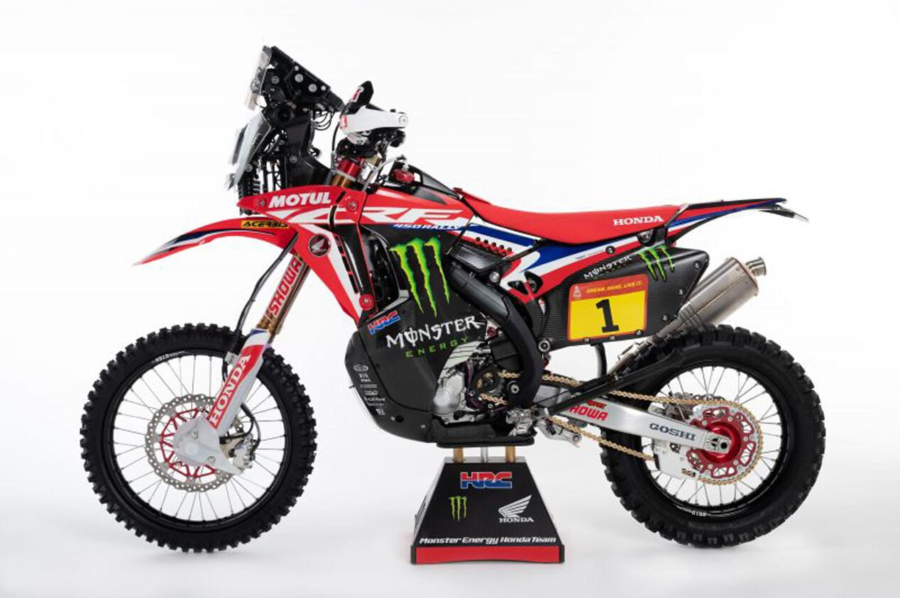 Foto de Honda CRF450 Rally Dakar 2021 (10/16)