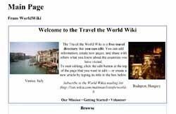 Travel The World Wiki: como Wikipedia, pero de viajes