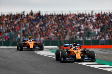 Sainz Norris Silverstone F1 2019