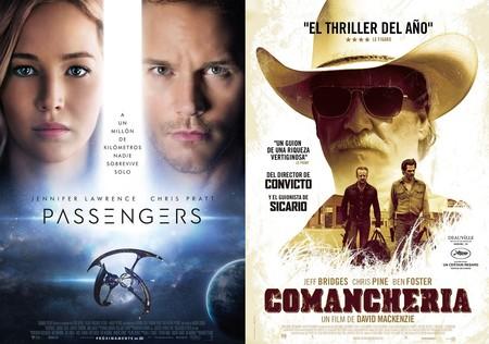 Estrenos de cine | 30 de diciembre | Los pasajeros y la comanchería de Pelé