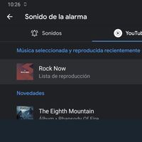 Cómo utilizar una canción de YouTube Music como despertador en Android