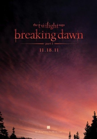 'La saga Crepúsculo: Amanecer. Parte 1', primer cartel