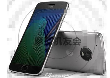 Moto G5 Plus Imagen Prensa