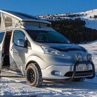 La Nissan e-NV200 Winiter Camper Concept propone la van definitiva para hacer ecoturismo a bajo cero