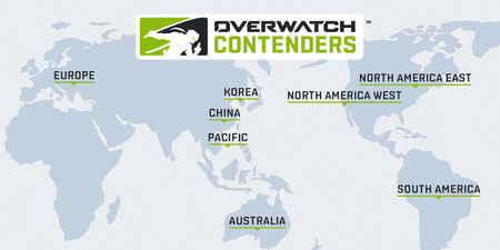 Overwatch contenders 2019
