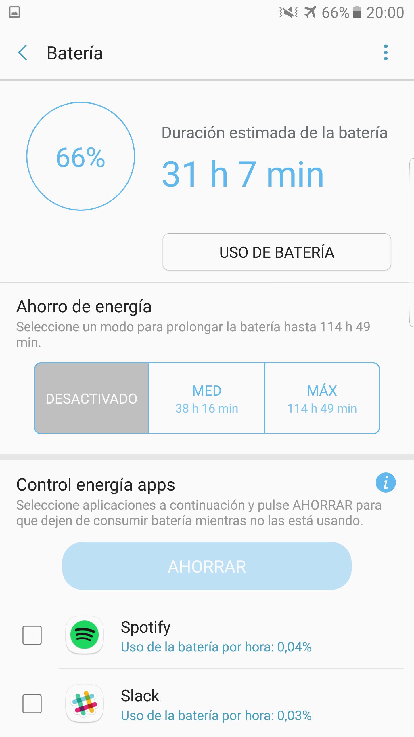 Foto de Galaxy Note 7 ahorro energía (1/5)