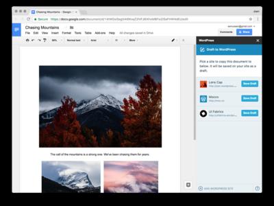 Ahora puedes editar documentos de forma colaborativa en Google Docs y guardarlos directamente en WordPress