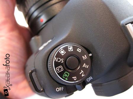 Canon EOS 6D detalle dial
