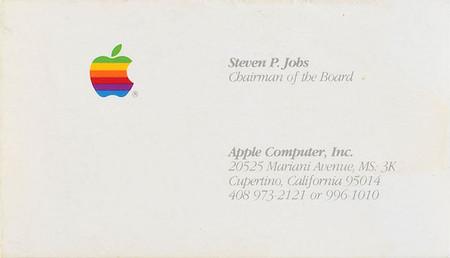 Tarjeta De Visita De Jobs