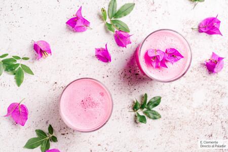 Pink Latte Bebida Caliente Frio