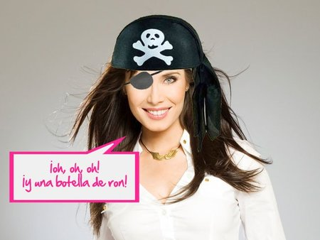 Pilar Rubio: Pirata a la vista