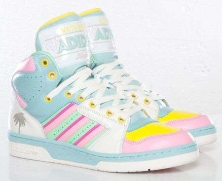 Adidas Originals JS License Plate Miami, un pastel veraniego