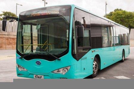 Autobús eléctrico BYD K9