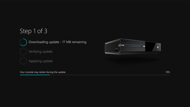 System Update Xbox One