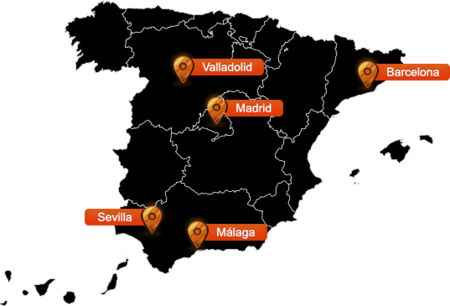 Mapa De Cobertura Orange.La Fibra Optica De Orange Llega A Malaga