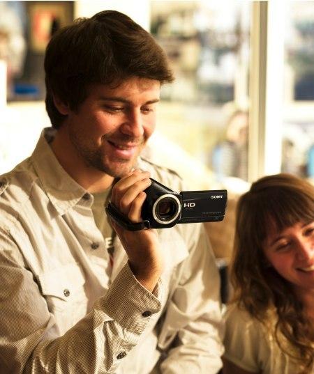 Sony Handycam HD, nuevas videocámaras con GPS