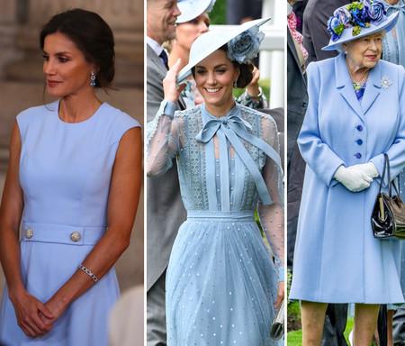 Letizia, Kate y las royal eligen el azul pastel para el verano: nueve compras súper apetecibles para tus vacaciones